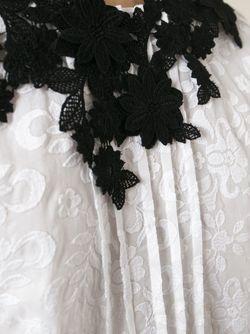 Платье Бэби-Долл С Вышивкой GIAMBA                                                                                                              белый цвет