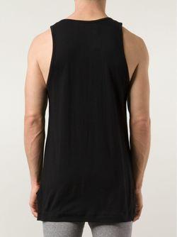 Удлинённая Майка JOHN ELLIOTT + CO.                                                                                                              чёрный цвет