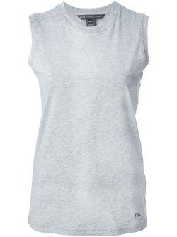 Майка С Круглым Вырезом Marc by Marc Jacobs                                                                                                              серый цвет