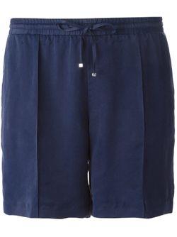 Шорты На Завязках Moncler                                                                                                              синий цвет