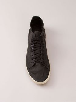 Creased Effect Trainers Osklen                                                                                                              черный цвет