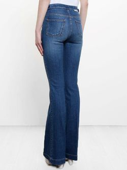 Flared Jeans Stella Mccartney                                                                                                              синий цвет