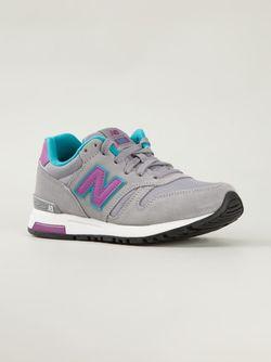 Кроссовки С Панельным Дизайном New Balance                                                                                                              серый цвет
