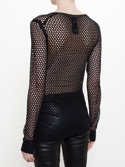 Fishnet Top Ann Demeulemeester                                                                                                              чёрный цвет