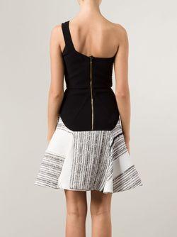 Платье На Одно Плечо Corby Roland Mouret                                                                                                              черный цвет