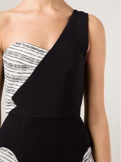 Платье На Одно Плечо Corby Roland Mouret                                                                                                              чёрный цвет