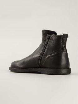 Ботинки По Щиколотку С Молнией Ann Demeulemeester                                                                                                              чёрный цвет