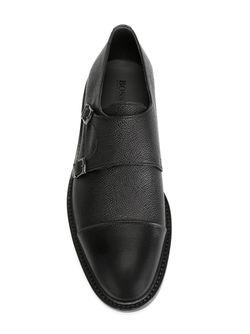 Туфли С Ремешешком На Пряжках Boss Hugo Boss                                                                                                              чёрный цвет