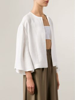 Куртка С Широкими Рукавами DUSAN                                                                                                              белый цвет