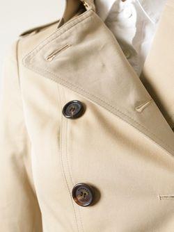 Классический Двубортный Тренч Burberry                                                                                                              Nude & Neutrals цвет