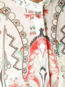 Топ-Туника Со Сплошным Принтом Etro                                                                                                              многоцветный цвет