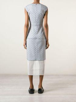 Платье Granada С Узором O'2ND                                                                                                              белый цвет
