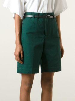 Шорты Kate С Поясом Golden Goose                                                                                                              зелёный цвет