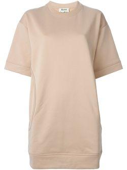Платье-Толстовка Velika Acne Studios                                                                                                              розовый цвет