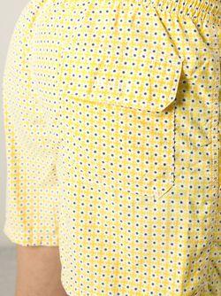 Шорты Для Плавания С Цветочным Принтом Kiton                                                                                                              желтый цвет