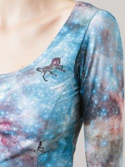 Cropped Unicorn Top SKINBIQUINI                                                                                                              синий цвет