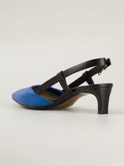 Туфли С Открытой Пяткой И Ремешком Costume National                                                                                                              чёрный цвет