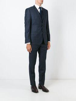 Костюм-Тройка Boss Hugo Boss                                                                                                              синий цвет