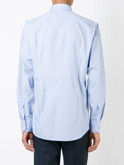 Классическая Рубашка Boss Hugo Boss                                                                                                              синий цвет