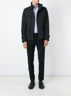 Куртка С Воротником-Стойкой Hugo                                                                                                              чёрный цвет