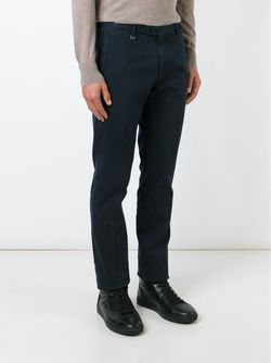 Slim Chino Trousers Boss Hugo Boss                                                                                                              синий цвет