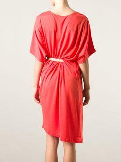 Платье Lilia Свободного Кроя С Поясом Joseph                                                                                                              желтый цвет