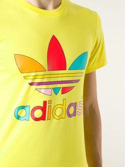 Футболка Supercolour adidas Originals                                                                                                              желтый цвет