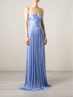 Вечернее Платье Denaya Maria Lucia Hohan                                                                                                              синий цвет