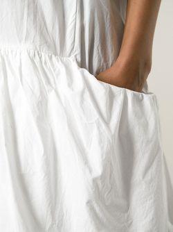 Платье С Заниженной Талией И Подолом С Hache                                                                                                              белый цвет