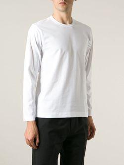 Кофта С Круглым Вырезом Comme Des Garcons                                                                                                              белый цвет