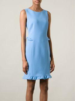 Платье С Волнистым Подолом Emilio Pucci                                                                                                              синий цвет