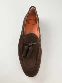 Лоферы С Кисточками Santoni                                                                                                              коричневый цвет