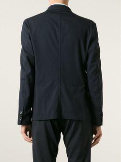 Пиджак С Двумя Пуговицами Barena                                                                                                              синий цвет