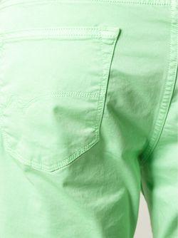Брюки Прямого Кроя Pt05                                                                                                              зелёный цвет