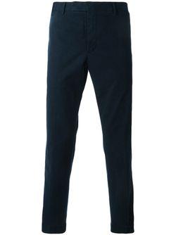 Классические Плотные Брюки Polo Ralph Lauren                                                                                                              синий цвет