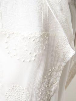 Жилет С Вышивкой На Подоле Ann Demeulemeester                                                                                                              белый цвет