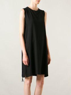 Платье Шифт С Завязками Ann Demeulemeester                                                                                                              черный цвет