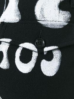 Брюки С Принтом Граффити OFF-WHITE                                                                                                              чёрный цвет