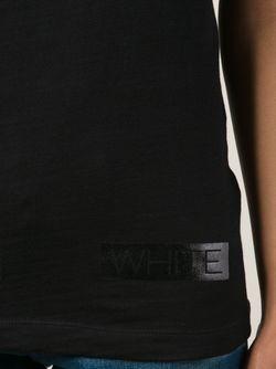 Майка С Логотипом OFF-WHITE                                                                                                              черный цвет