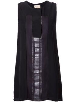 Платье Dilesi С Контрастной Панелью ZEUS + DIONE                                                                                                              чёрный цвет