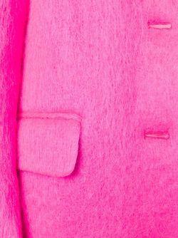 Однобортное Пальто MSGM                                                                                                              розовый цвет