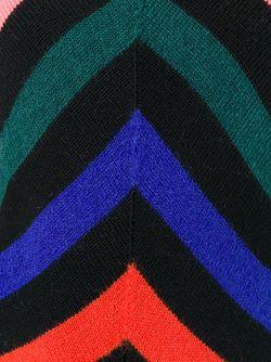 Свитер Зигзагообразной Вязки MSGM                                                                                                              черный цвет