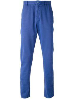 Плотные Брюки Etro                                                                                                              синий цвет