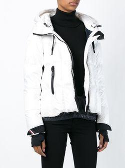 Пуховик С Капюшоном Moncler Grenoble                                                                                                              белый цвет
