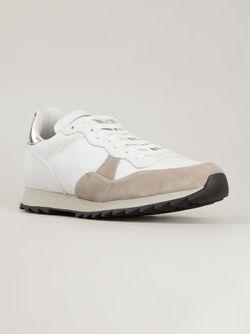 Кроссовки С Замшевыми Панелями Alexander McQueen                                                                                                              белый цвет