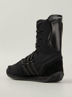 Кроссовки С Боксерском Стиле Adidas X Yohji Yamamoto                                                                                                              черный цвет