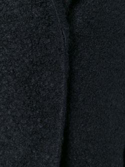 Однобортное Пальто Vanessa Bruno Athe'                                                                                                              чёрный цвет