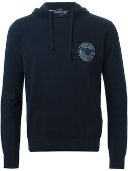 Толстовка С Капюшоном И Логотипом ARMANI JEANS                                                                                                              синий цвет