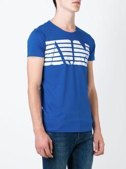 Printed T-Shirt ARMANI JEANS                                                                                                              синий цвет