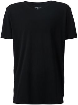 Футболка С Круглым Вырезом MAJESTIC FILATURES                                                                                                              черный цвет